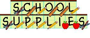 300x128 Best School Supplies Clipart