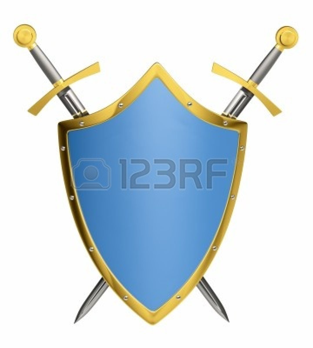 1080x1200 Medieval Swords And Shields Clipart