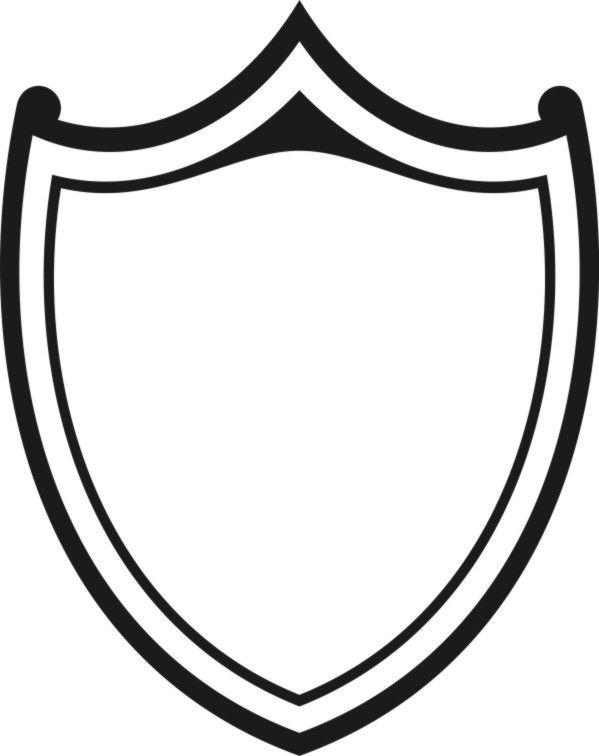 599x756 The Best Shield Drawing Ideas Shield Design