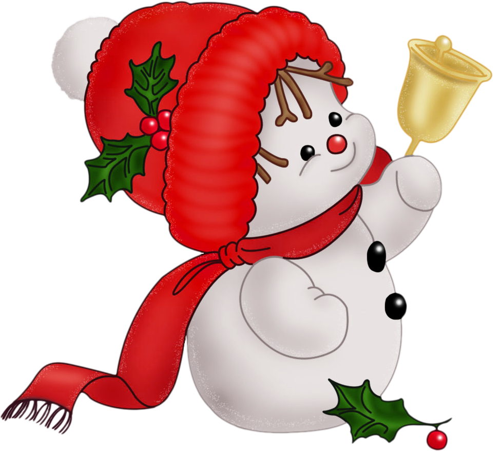 972x878 Christmas Snowman Clip Art Free Clipart Holidays