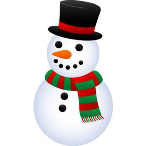 300x300 Snowman Clipart Small