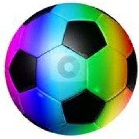 480x480 Neon Clipart Soccer Ball
