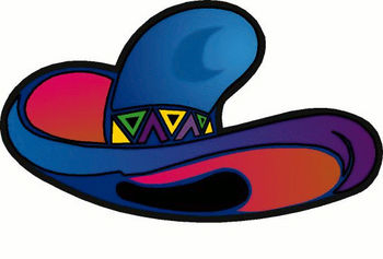 350x237 Clip Art Picture Of A Mexican Sombrero