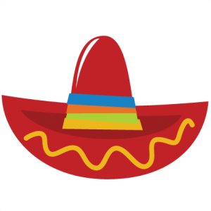 300x300 Sombrero Svg File For Scrapbooking Cardmaking Sombrero Cut File