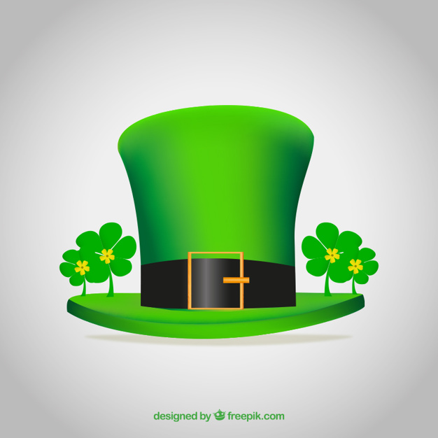 626x626 Green Hat For St Patricks Day Vector Free Download