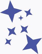 170x216 Free Stars Clipart