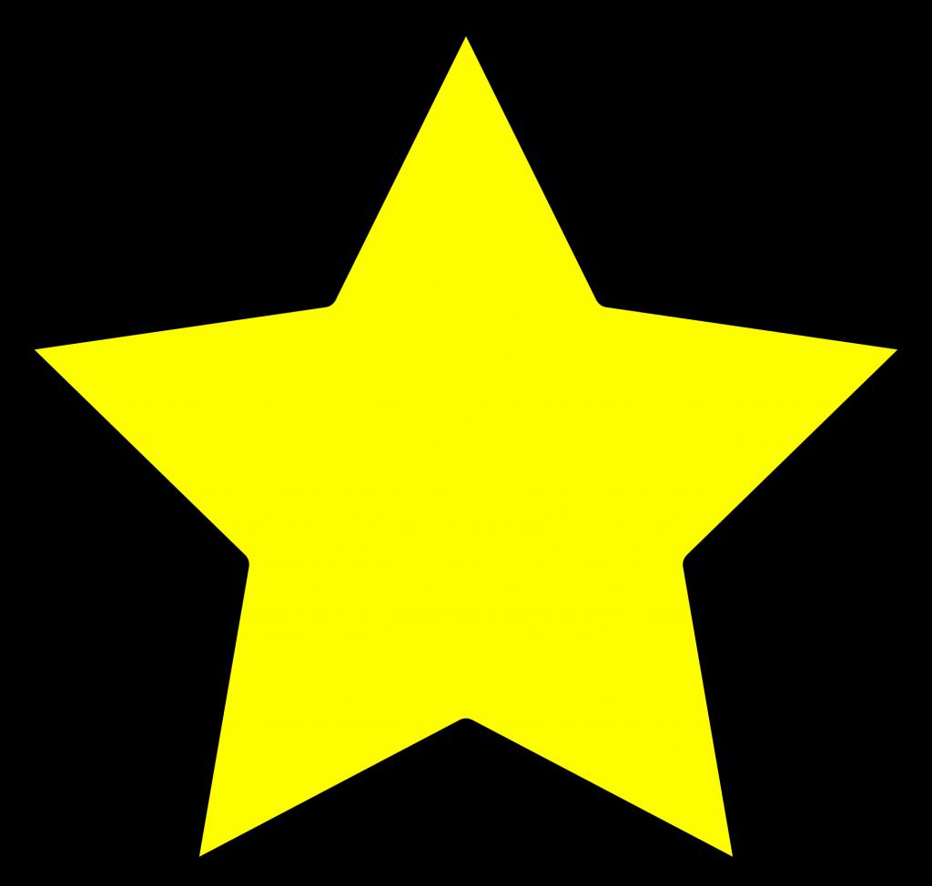 1024x974 Star Clip Art