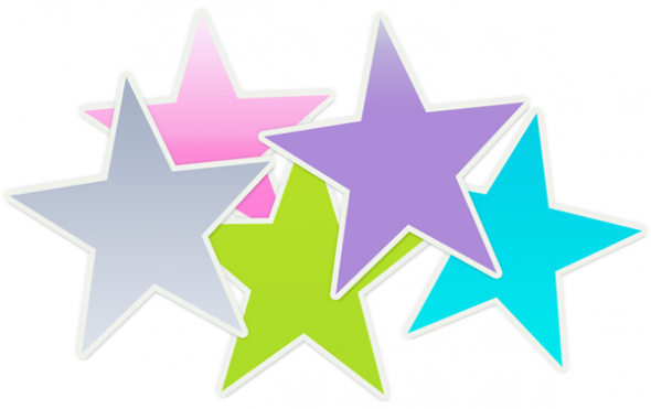 590x371 Star Clipart And Animated Graphics Of Stars 2 3 Clipartix 2