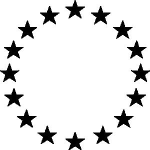 300x300 Circle Of Stars Clip Art Cliparts