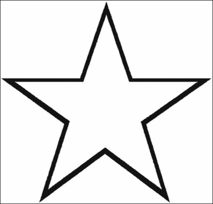 719x690 Coloring Pages Of Stars Coloring Free
