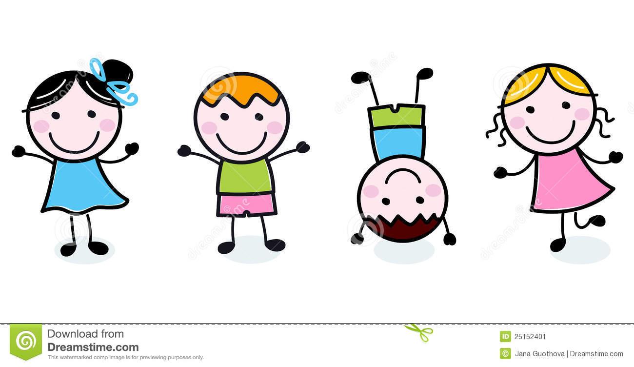 1300x752 Clipart Children Stick Figures