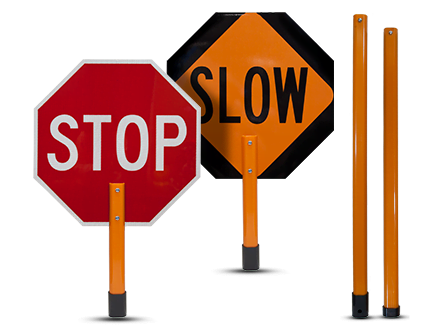440x335 Hand Held Stop Signs For Sale Ships Same Or Next Day