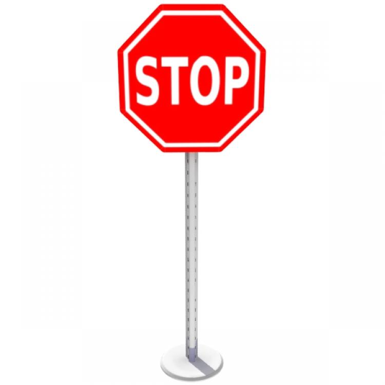 750x750 Picture Stop Sign