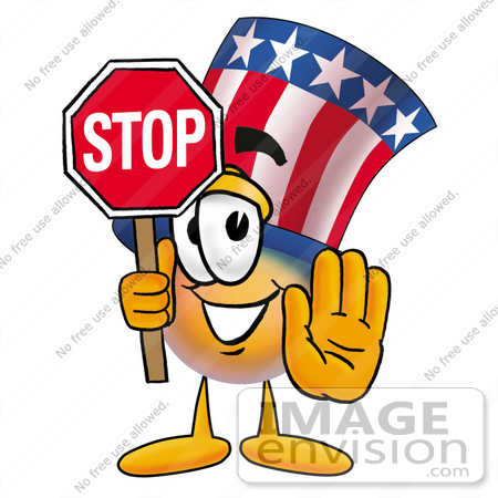 450x450 Royalty Free Cartoons Amp Stock Clipart Of Stop Signs Page 1