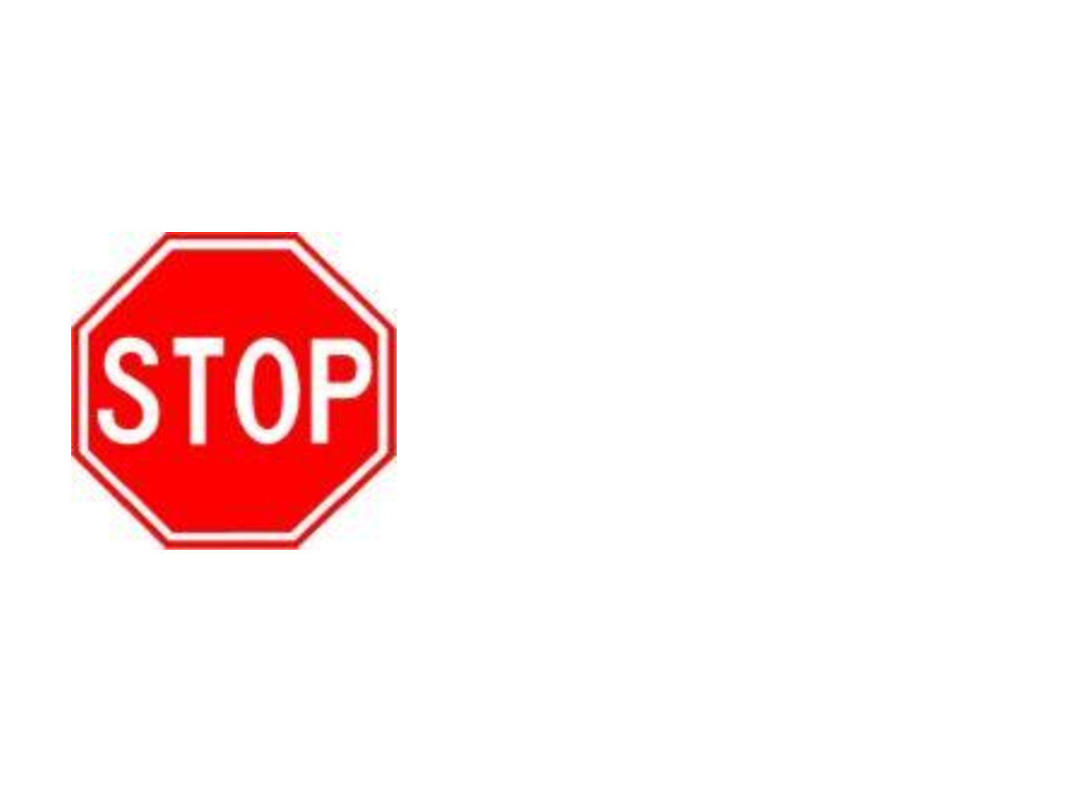 1500x1125 Stop Sign Template Printable