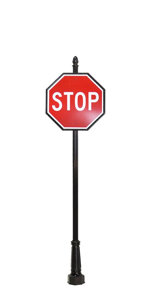 504x1008 Stop Sign Outline Free Download Clip Art
