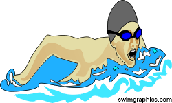 250x150 Boy Swimmer Free Clipart