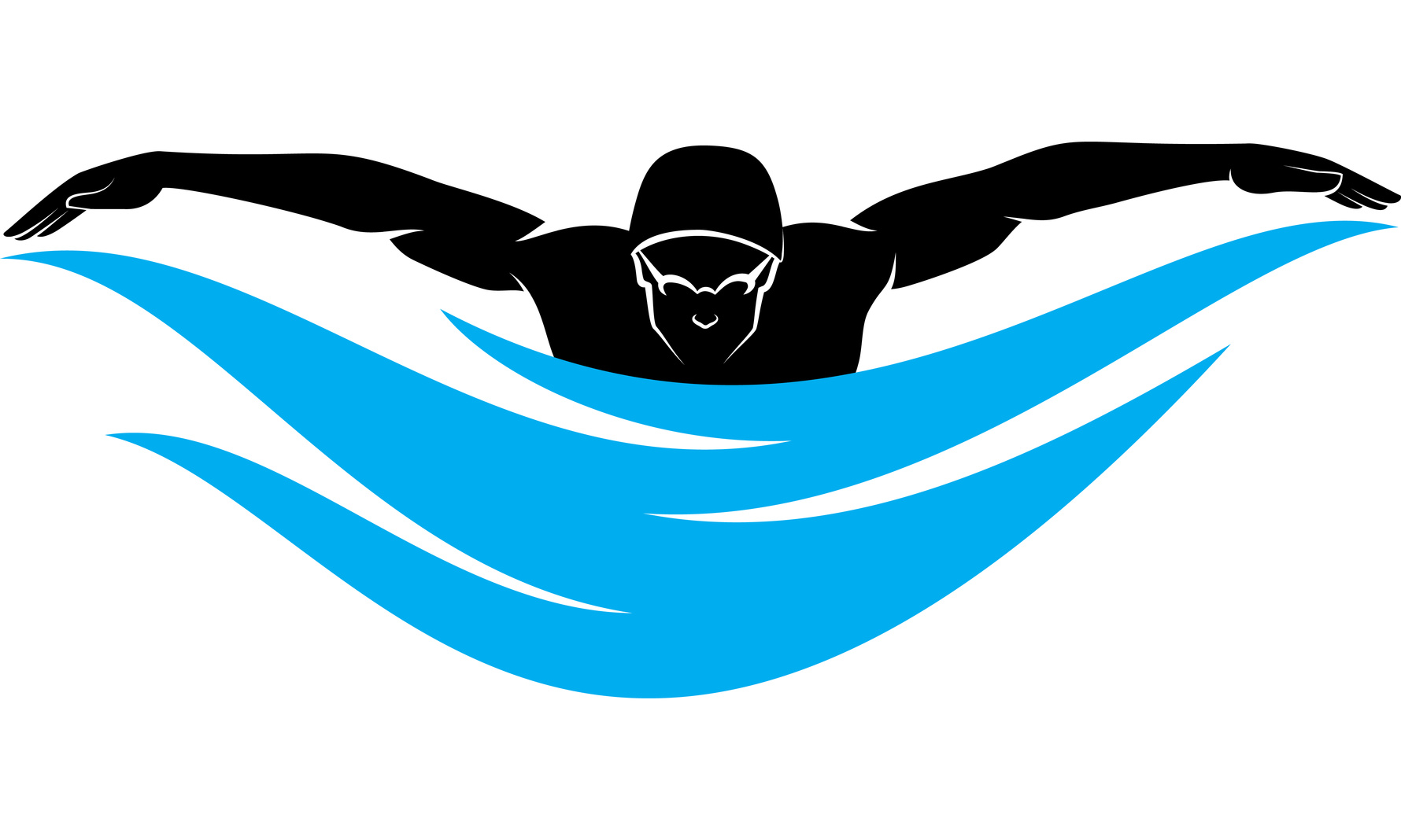 1780x1068 Swimming Clipart Fly