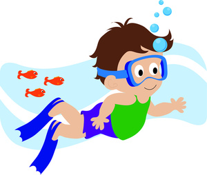 300x254 Boy Swimming Clipart Free Clipart Images