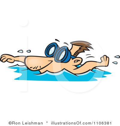 400x420 Swimming Clipart Man Swimming