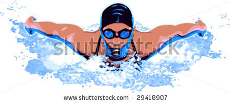 450x201 Swimming Clipart Swimming Competition
