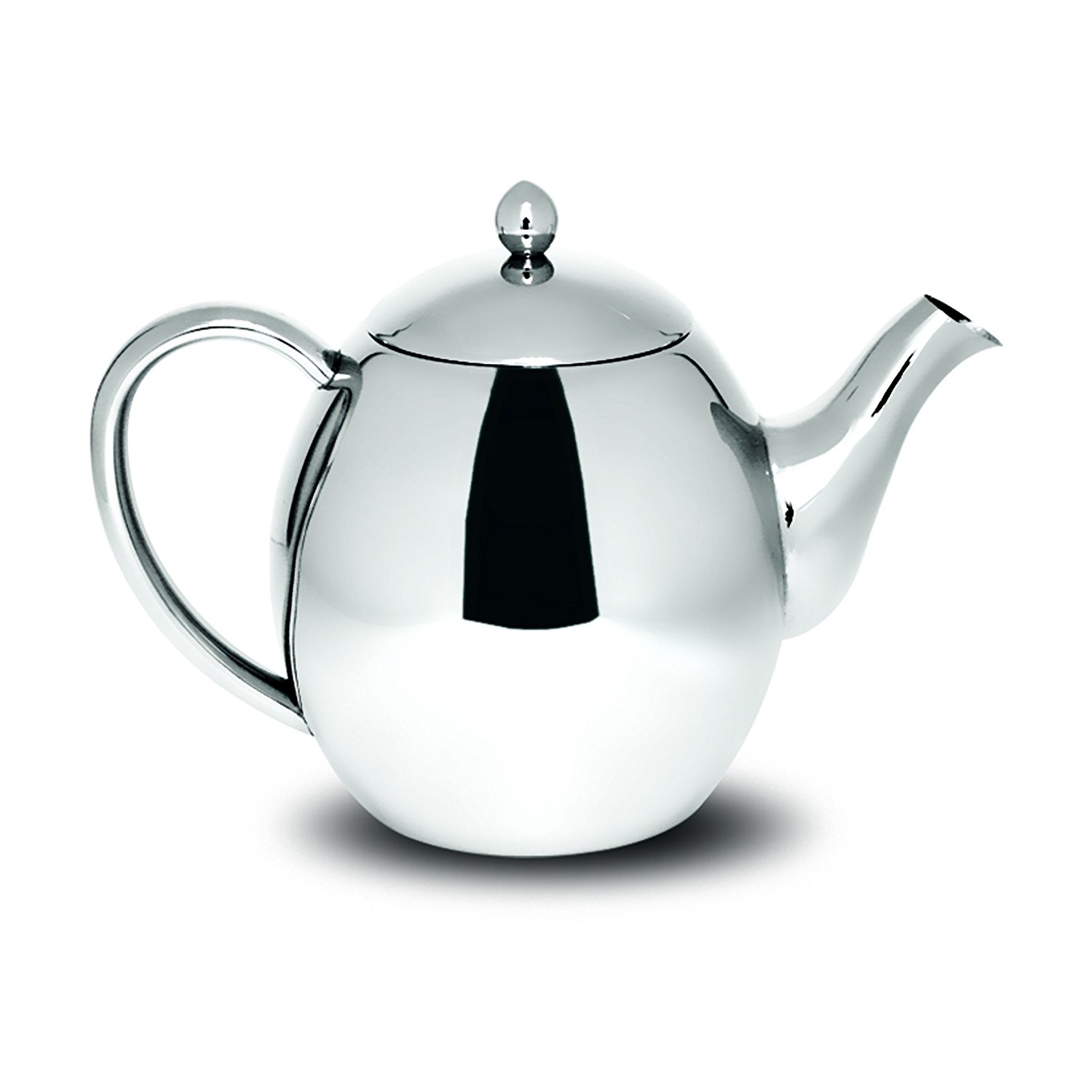 1500x1500 Sabichi Double Wall Stainless Steel Teapot, Silver, 1200 Ml