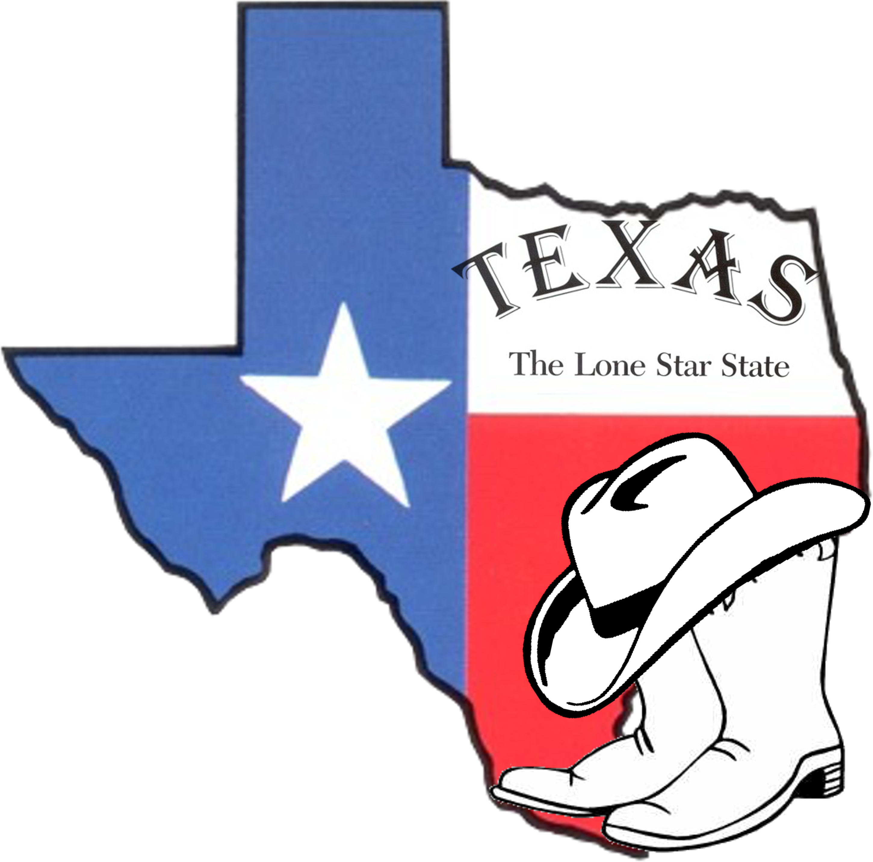 2901x2866 Free Clipart Of Outline Texas Clipart 2