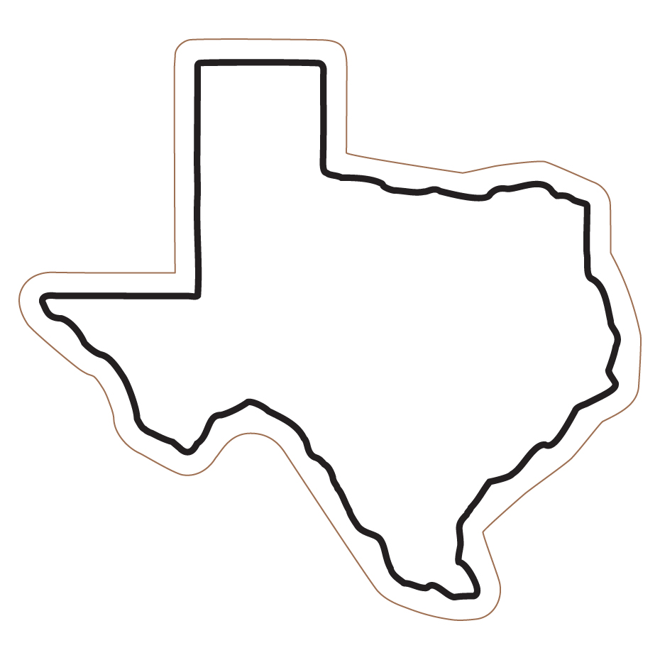 930x930 State Of Texas Outline Clip Art Clipart