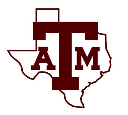 432x391 Texas Aandampm Clipart