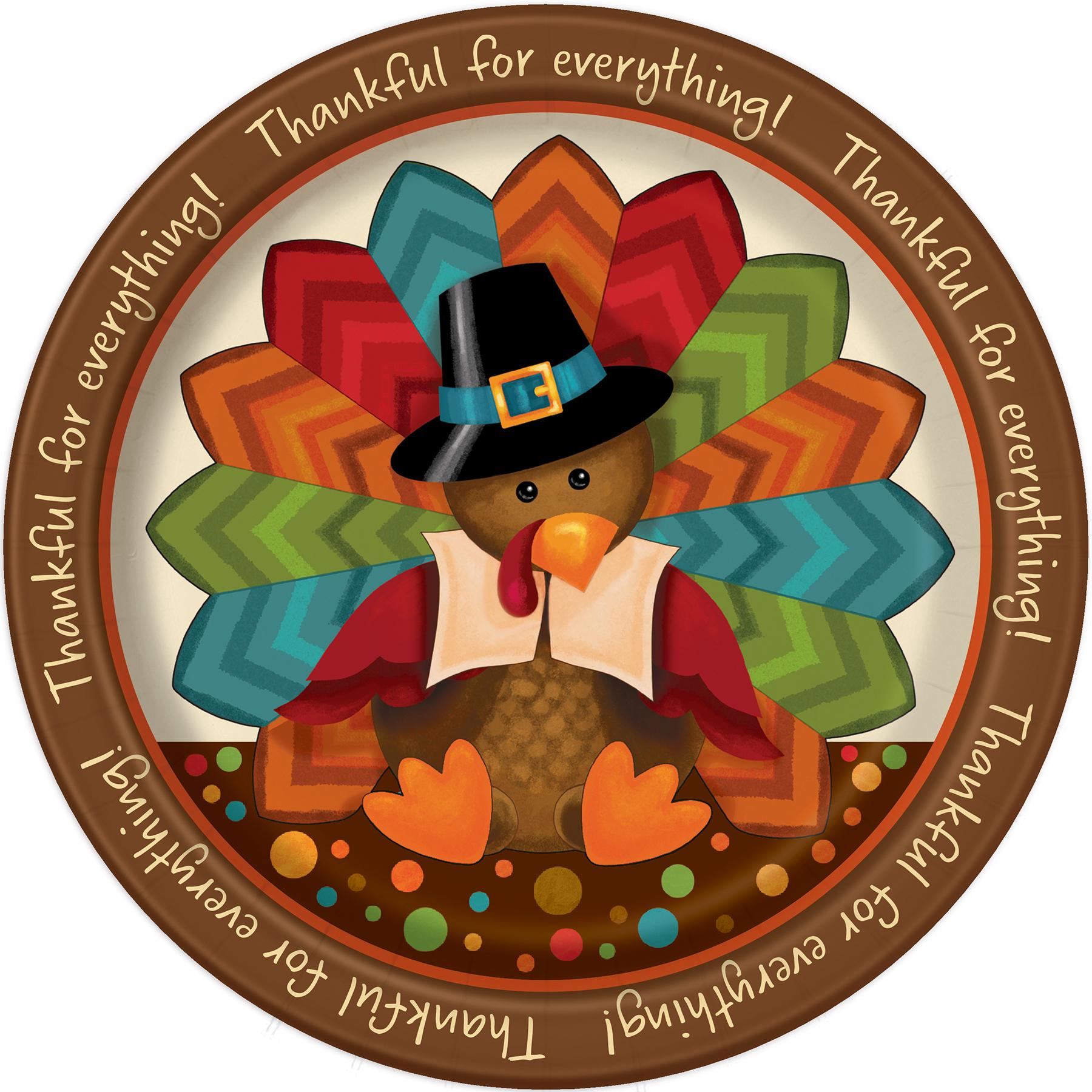 1800x1800 Cute Turkey Thanksgiving Dinner Plates Thanksgiving Tableware