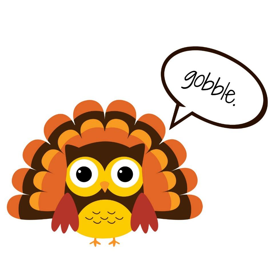 945x945 Turkey Clipart Thanksgiving 2015