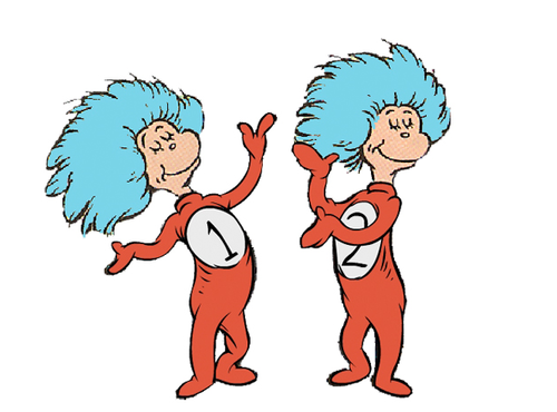 Images Of Thing 1 And Thing 2