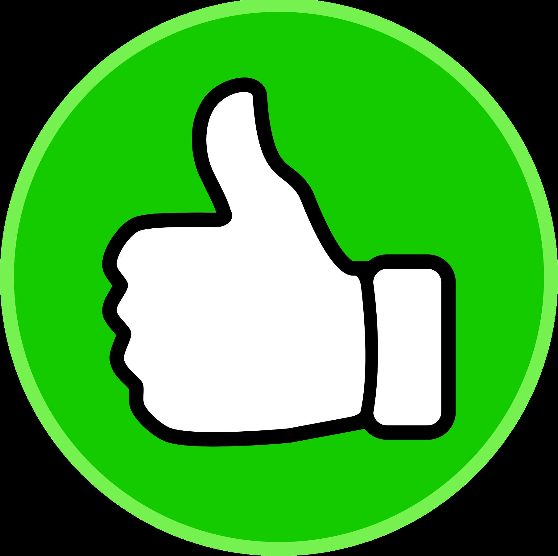 1809x1802 Symbol Thumbs Up Clip Art Vector Free Clipart Clipartix