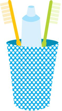 236x422 Toothbrush Clip Art. This File Contains 7 Toothbrushes In Color