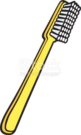 321x534 Toothbrush Clipart Yellow