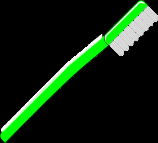 600x542 Toothbrush Vector Clip Art