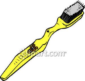 300x285 Yellow Toothbrush