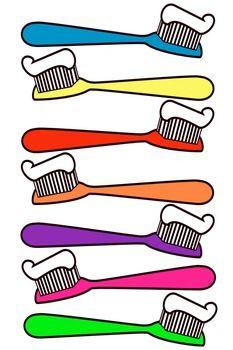 233x350 C6234b7271f11e72df01a77d62b3329e Toothbrush Clipart Cartoon