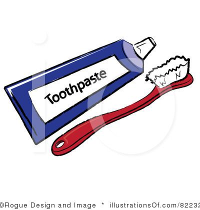 400x420 Mauve Clipart Toothbrush