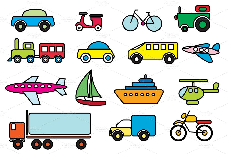 1224x828 Clipart Free Transportation
