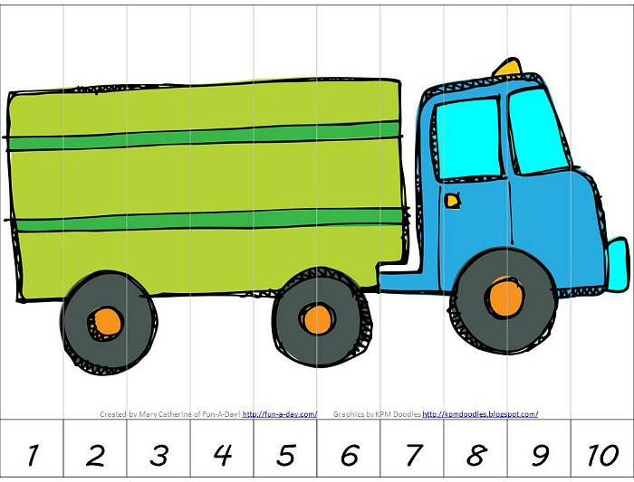 700x533 Preschool Transportation Theme Math Activities