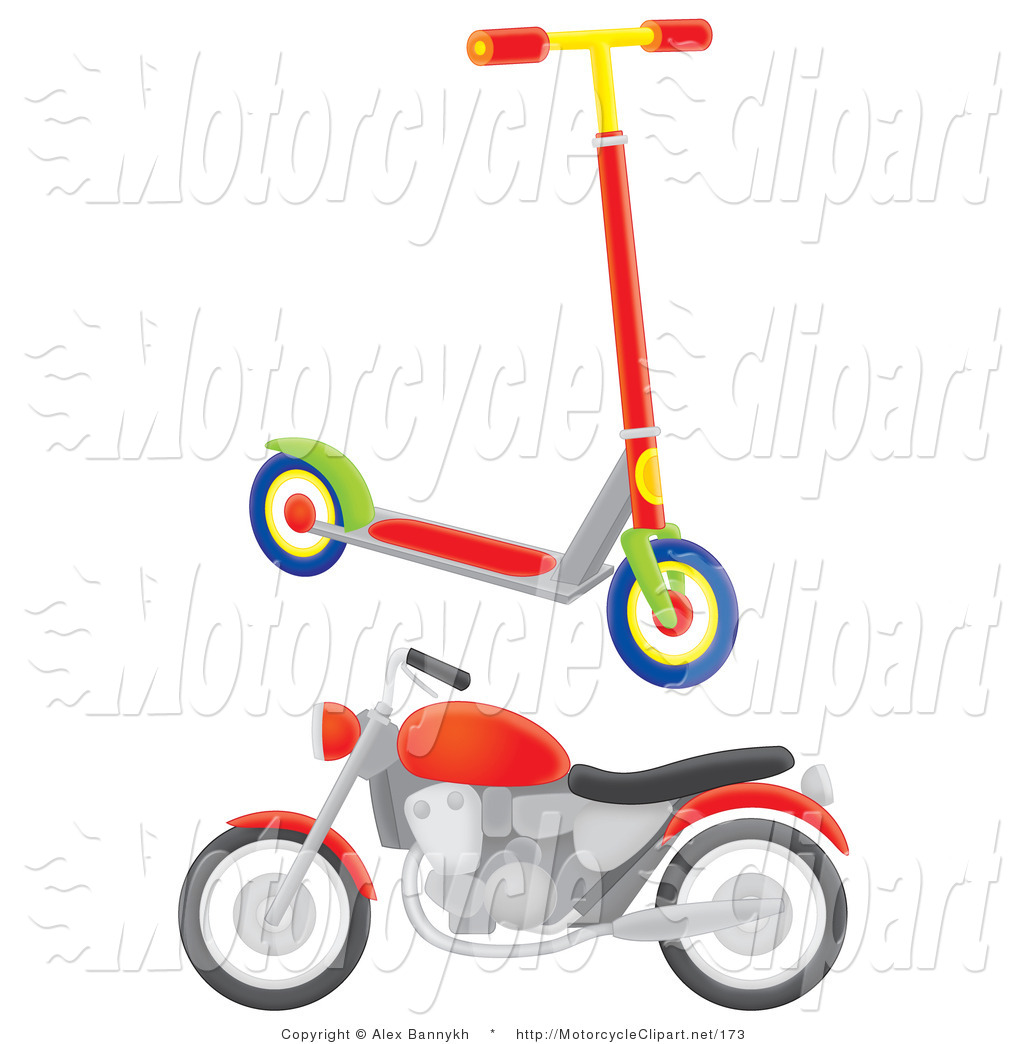 1024x1044 Scooter Clipart Transportation