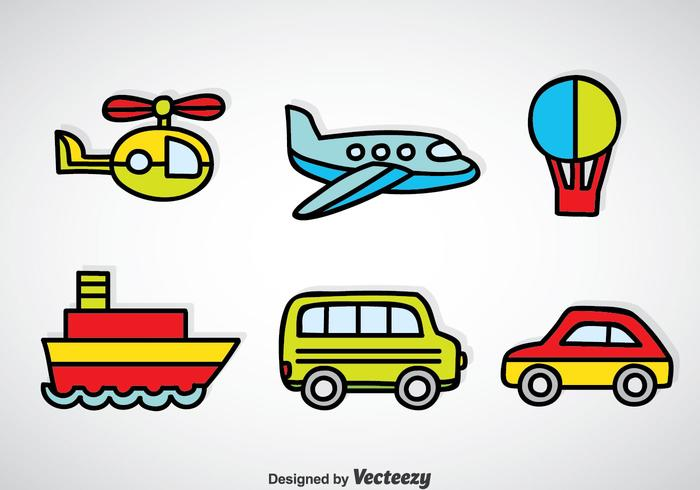 700x490 Transportation Vehicle Cartoon Vector