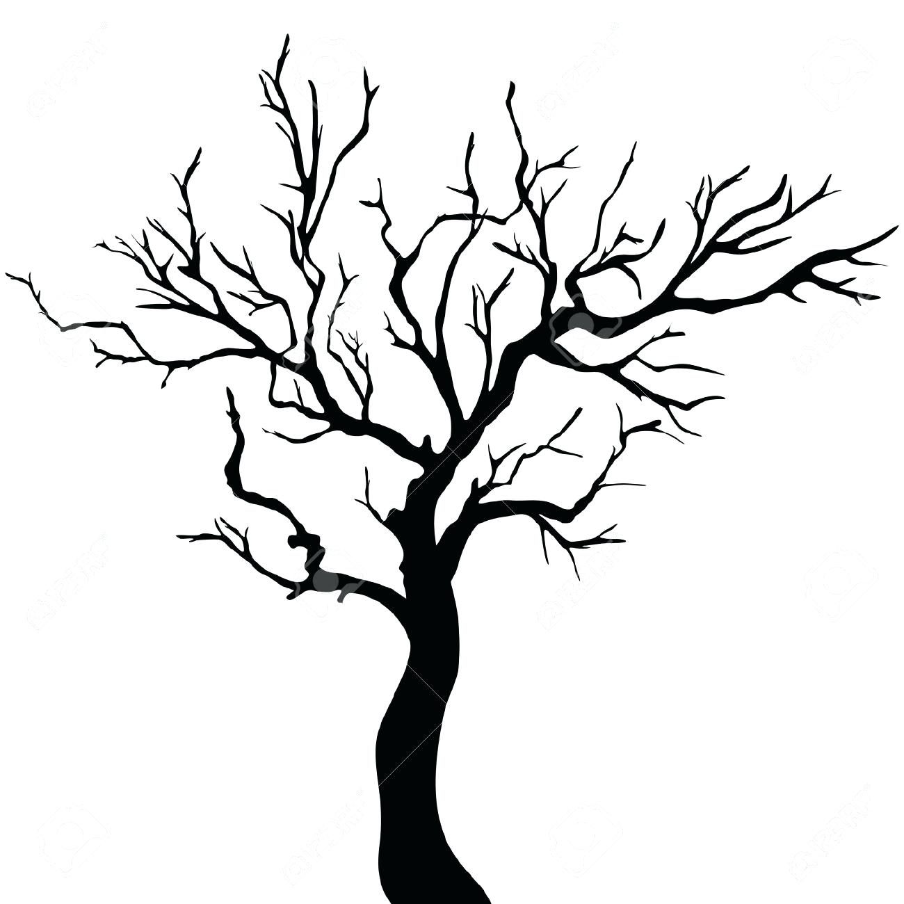 1300x1300 Tree Silhouettes Royalty Free Vectors And Stock 19 Terrific