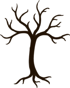 240x298 Tree Without Branches Clip Art