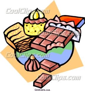288x308 Clipart Of Junk Food