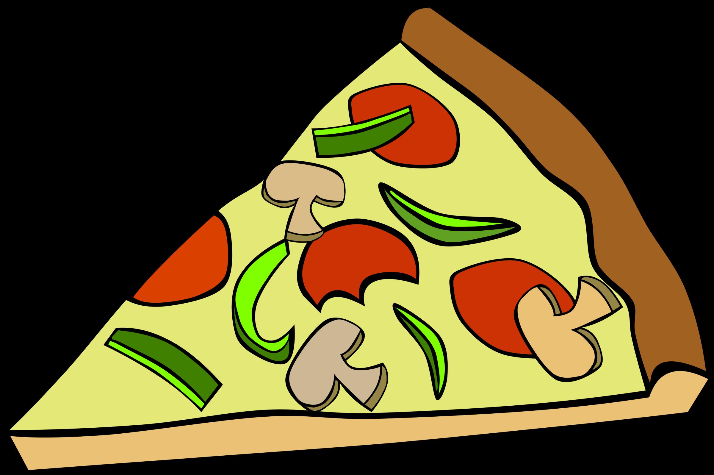 2400x1596 Pizza Clipart Junk Food