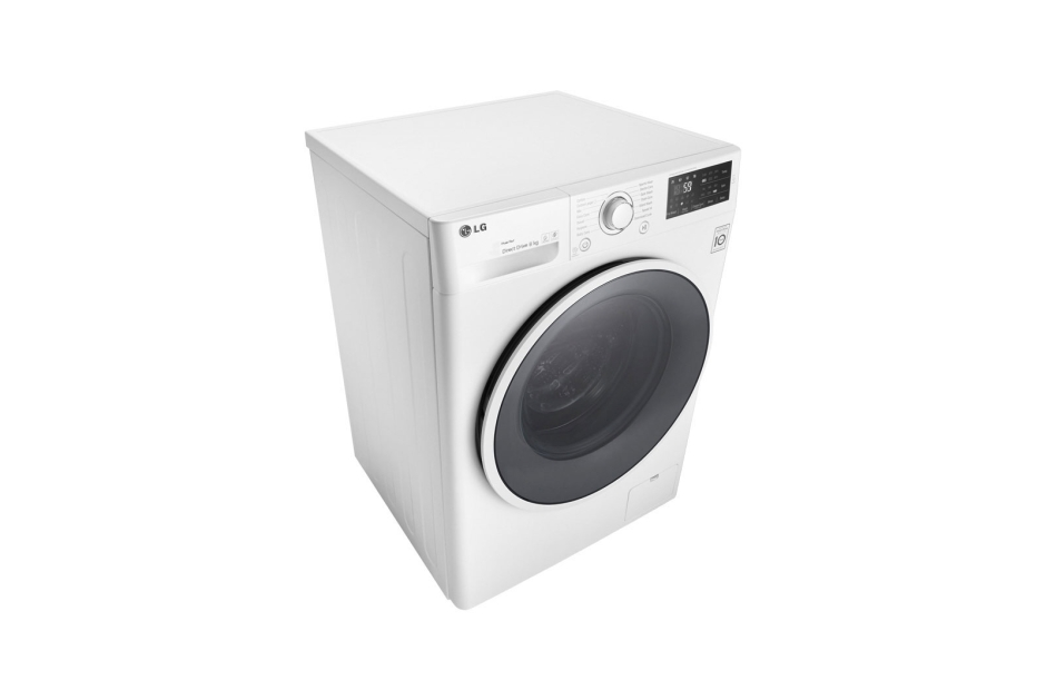 940x620 Lg 8kg, 6 Motion Inverter Direct Drive Front Load Washing Machine