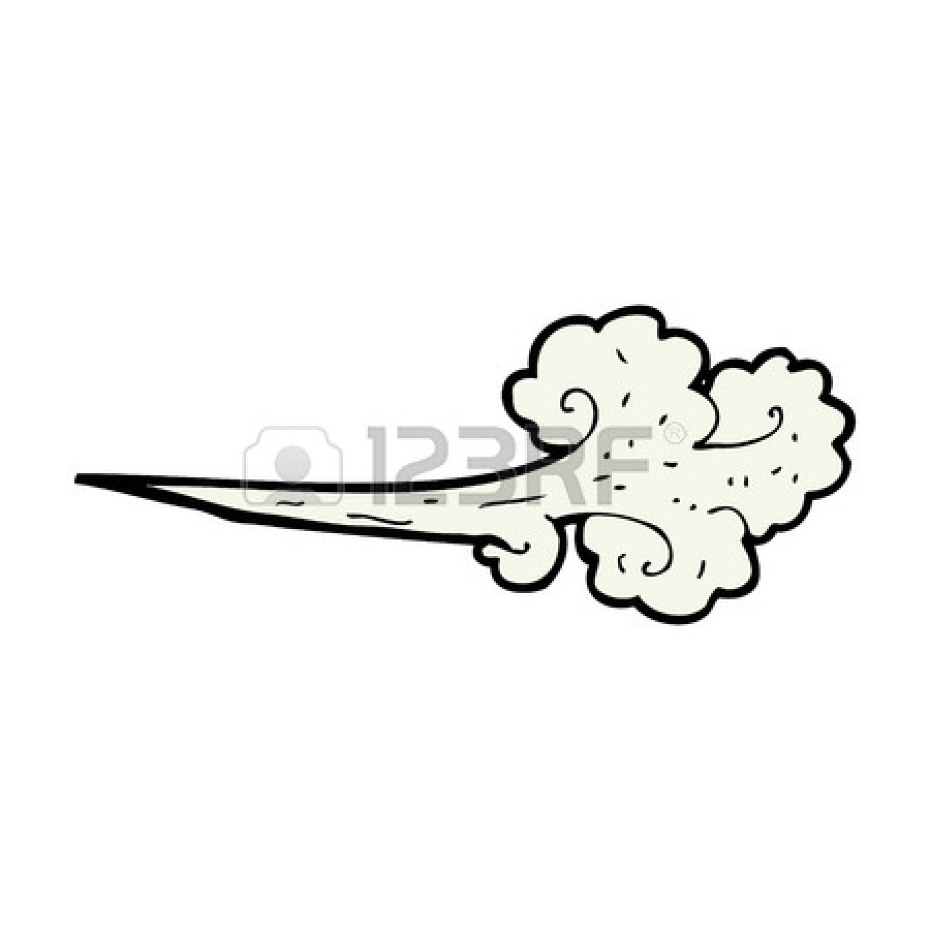 1350x1350 Wind Blowing Victorian Clipart