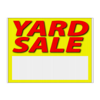324x324 Garage Sale Signs Yard Amp Lawn Signs Zazzle